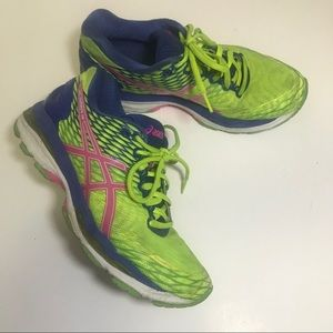 ASICS gel-nimbus 18 running shoes T650N size 6.5